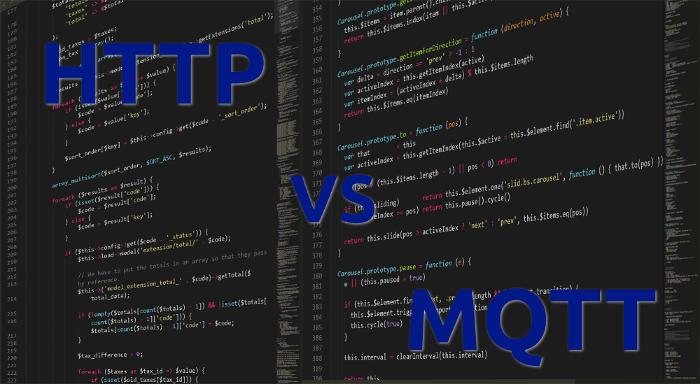 HTTP vs. MQTT